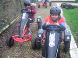 racing pedal karts